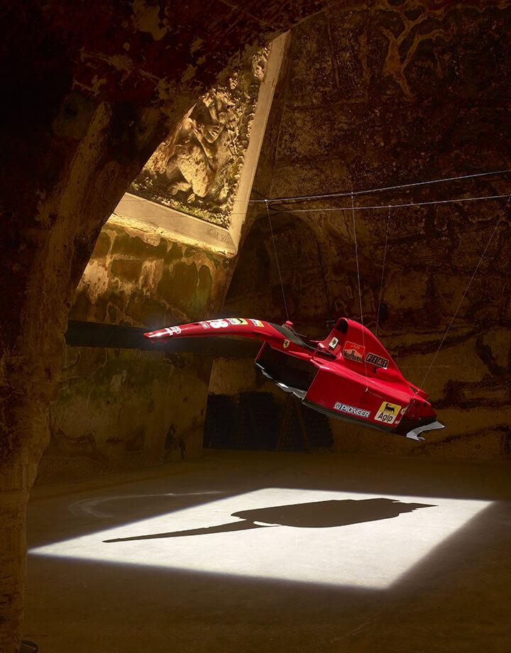 Bertrand Lavier, Ferrari Rouge, 2008