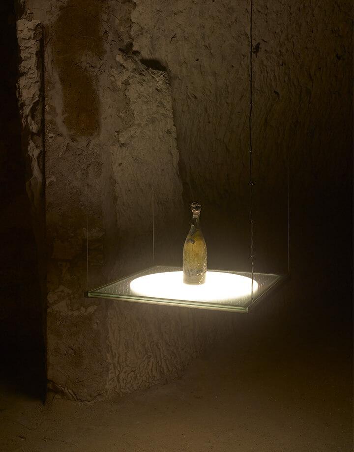 Bertrand Lavier, Bouteille de champagne Pommery 1874