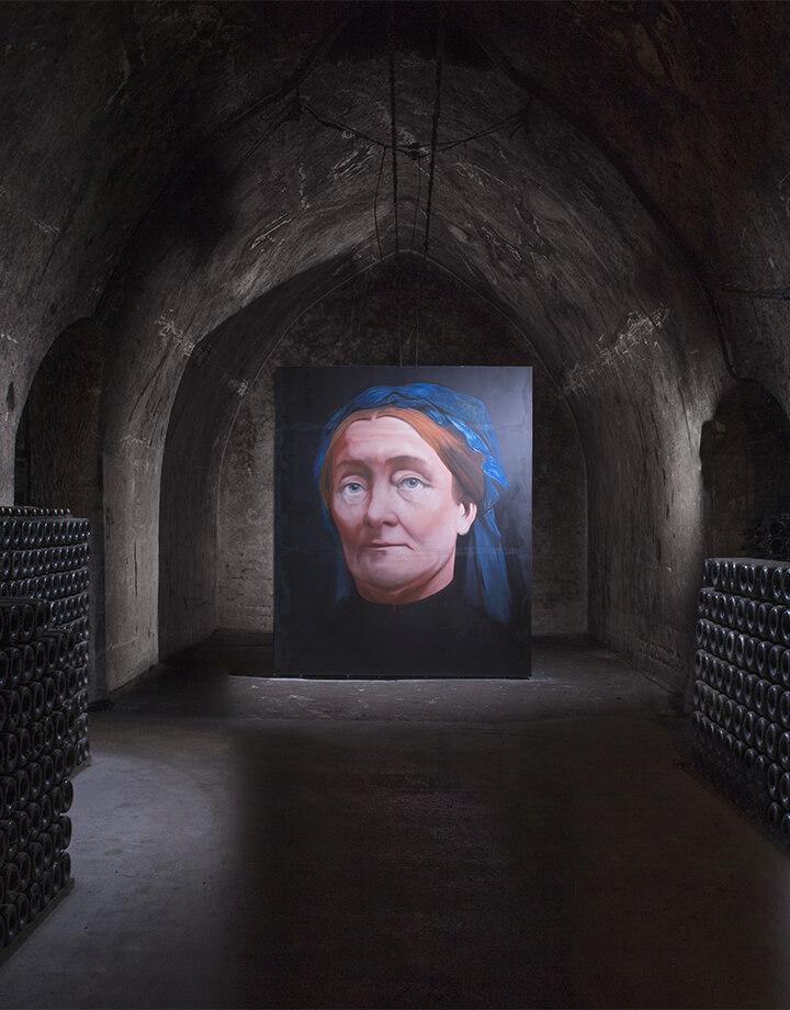 Gérald Petit, Portrait de Mme Pommery, 2014
