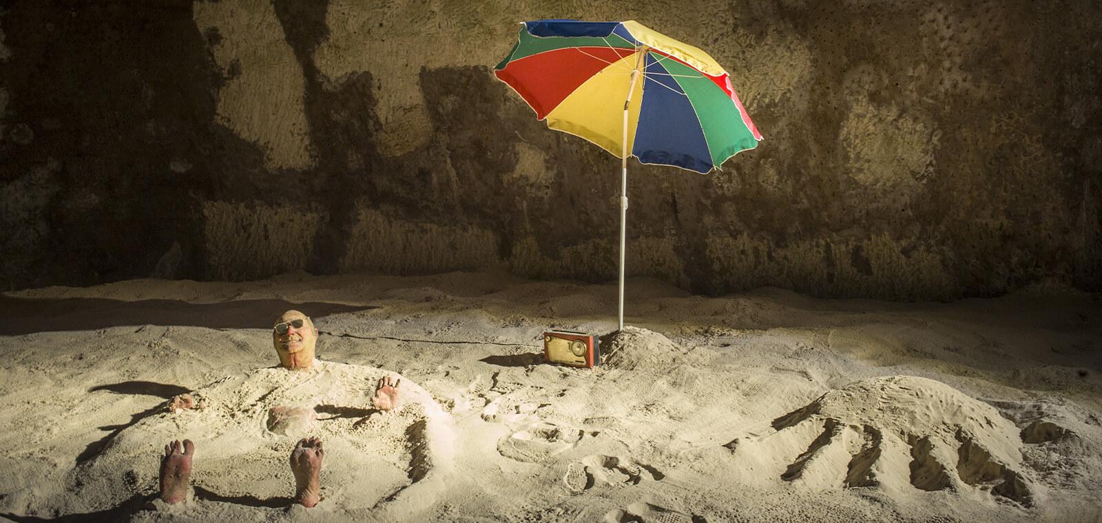 Enrique MARTY, Sunbath, 2008 © Xavier CLAYES